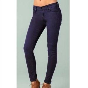Citizens of Humanity Thompson Cropped Purple Jeans